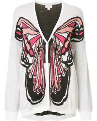 Giamba - Butterfly Cardigan - Lyst