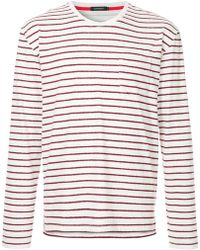 Loveless - Striped Fitted Top - Lyst