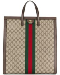 f15f5960c4fe Gucci Gg Blooms Supreme Tote in Pink - Lyst