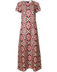 LaDoubleJ - Palazzo Rosa Swing Dress - Lyst