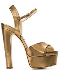 Brian Atwood - Platform-sole Sandals - Lyst