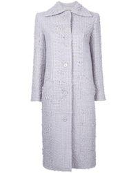 Nina Ricci | Classic Long Coat | Lyst