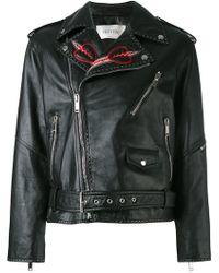Valentino - Love Blade Embroidered Jacket - Lyst