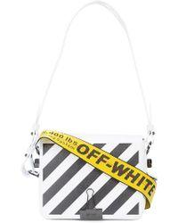 Off-White c/o Virgil Abloh - Striped Logo Crossbody Bag - Lyst
