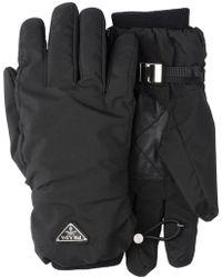 Prada - Handschuhe aus Funktionsstoff - Lyst