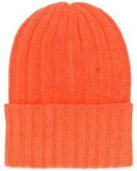 The Elder Statesman - Bonnet en tricot nervuré - Lyst