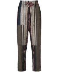 Apiece Apart - Pantaloni a righe - Lyst