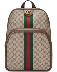 2ef328111f8 Gucci Gg Blooms Backpack in Green for Men - Lyst
