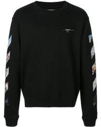 Off-White c/o Virgil Abloh - Arrows Sweatshirt - Lyst