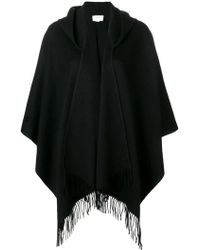 Snobby Sheep - Fringed Shawl - Lyst