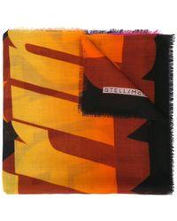 Stella McCartney - Long Printed Scarf - Lyst