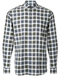 Kent & Curwen - Checked Long Sleeve Shirt - Lyst