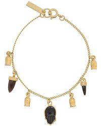 Isabel Marant - Embellished Stone Bracelet - Lyst