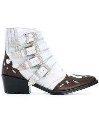 Toga Pulla - Ankle Height Buckle Boots - Lyst
