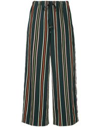Astraet - Striped Cropped Trousers - Lyst