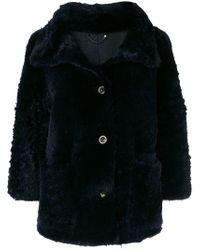 DESA NINETEENSEVENTYTWO - Short Fur Coat - Lyst