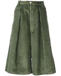 Sunnei - Wide Leg Culottes - Lyst