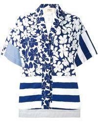 Ports 1961 - Oversize Printed Shirt - Lyst