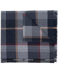 Hackett - Checked Scarf - Lyst