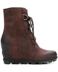 Sorel - Ankle Lace-up Boots - Lyst