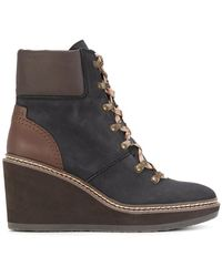 See By Chloé - Hiking Style Wedge Boots - Lyst