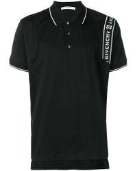 Givenchy - Stripe Logo Polo Shirt By - Lyst