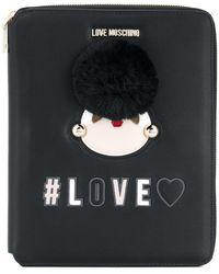Love Moschino - Love Zipped Notebook - Lyst