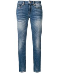 Dondup - Cropped Slim-fit Jeans - Lyst