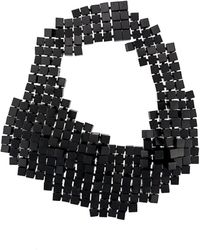 Monies - Multi Cube Statement Necklace - Lyst