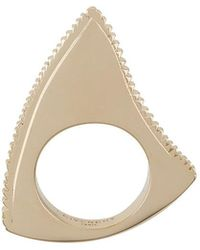 Givenchy | Jagged Ring | Lyst