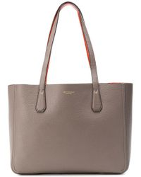 fa9e98ff19 Lyst - Coach Madison Small Phoebe Shoulder Bag in Leather in Gray