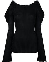 David Koma Round Neck Jumper