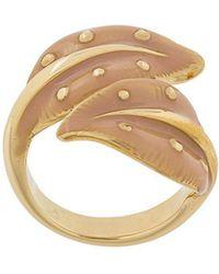 Chloé - Sloan Leaf Ring - Lyst