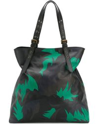 Tomas Maier - Camo Palm Large Besace - Lyst