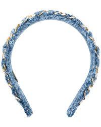 Eugenia Kim - Alice Denim Headband - Lyst