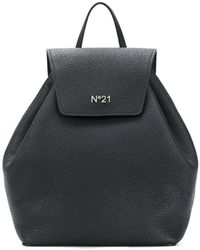 N°21 - Pebbled Drawstring Backpack - Lyst