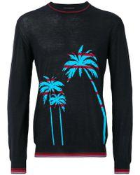 Ermanno Scervino - Palm Intarsia Sweater - Lyst