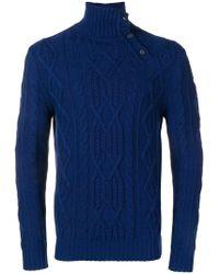 Al Duca d'Aosta - Turtleneck Fitted Sweater - Lyst