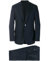 Dell'Oglio - Traje formal con corte slim - Lyst