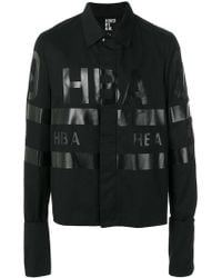 Hood By Air - Logo Printed Jacket - Lyst