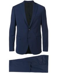 Tonello - Fitted Formal Suit - Lyst