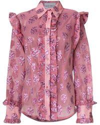 Daizy Shely - Lurex Shirt - Lyst