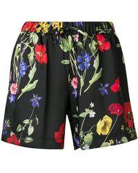Blugirl Blumarine - Floral Print Shorts - Lyst