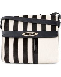 Lanvin | Mini Sac De Ville Crossbody Bag | Lyst