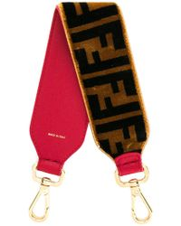 Fendi - Mini Strap You Velvet Bag Strap - Lyst