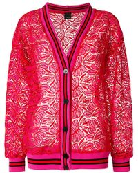 Pinko - Floral Lace Jacket - Lyst