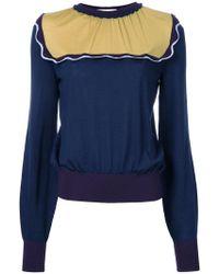 ROKSANDA - Contrast Sweatshirt - Lyst