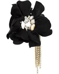 Lanvin - Flower Applique Bracelet - Lyst