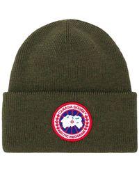 Canada Goose - Bonnet à patch logo - Lyst