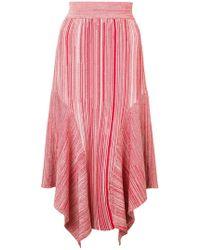 Yigal Azrouël - Melange Knit Skirt - Lyst
